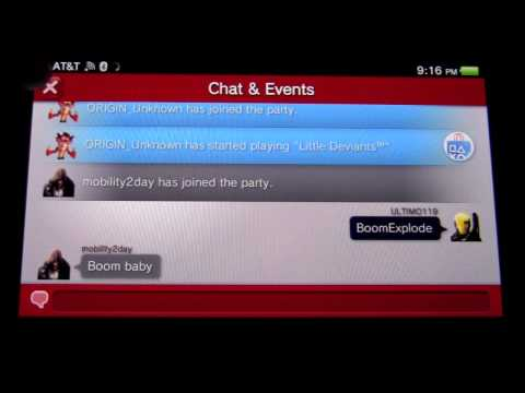 how to create a party on ps4