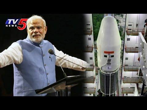 PM Modi's South Asia Satellite Dream Going to Come True Today | TV5 News