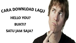 Download CARA DOWNLOAD LAGU MENGGUNAKAN PLANETLAGU!