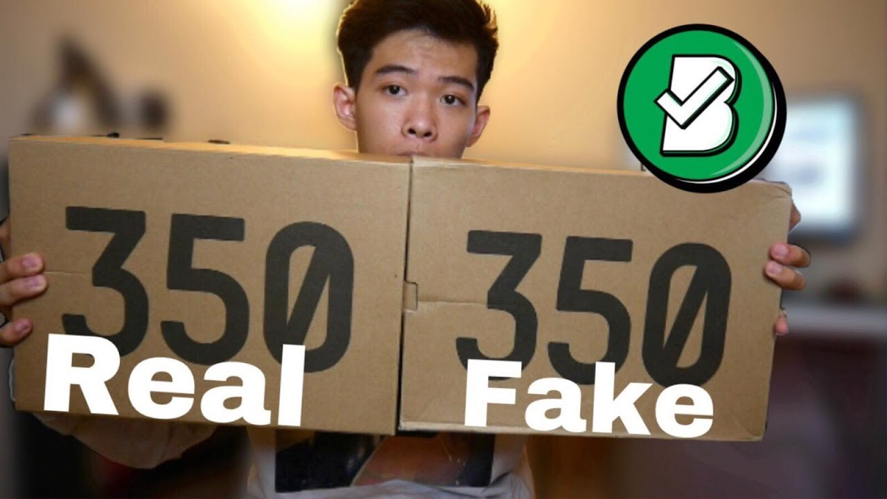 594f33996 Những CƠ BẢN để phân biệt Fake vs Real YEEZY V2 350