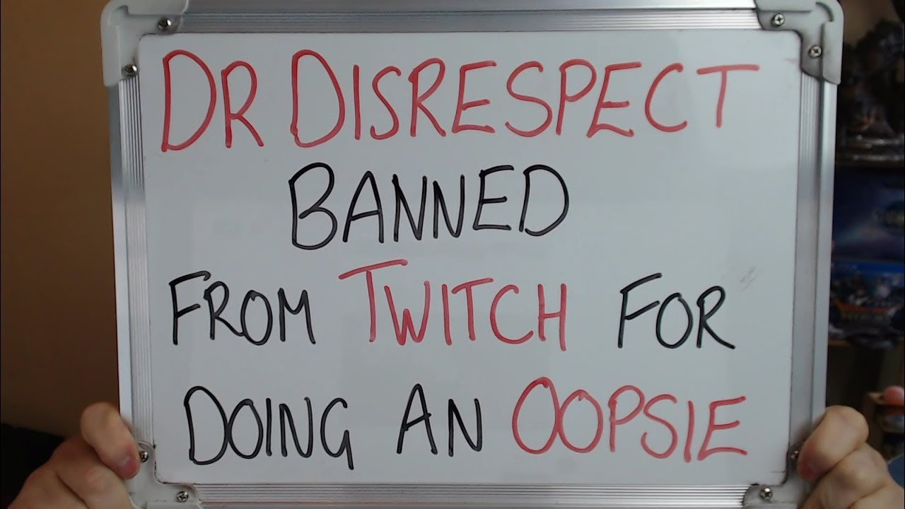 Dr Disrespect Twitch account suspended, E3 pass revoked for illegal bathroom stream