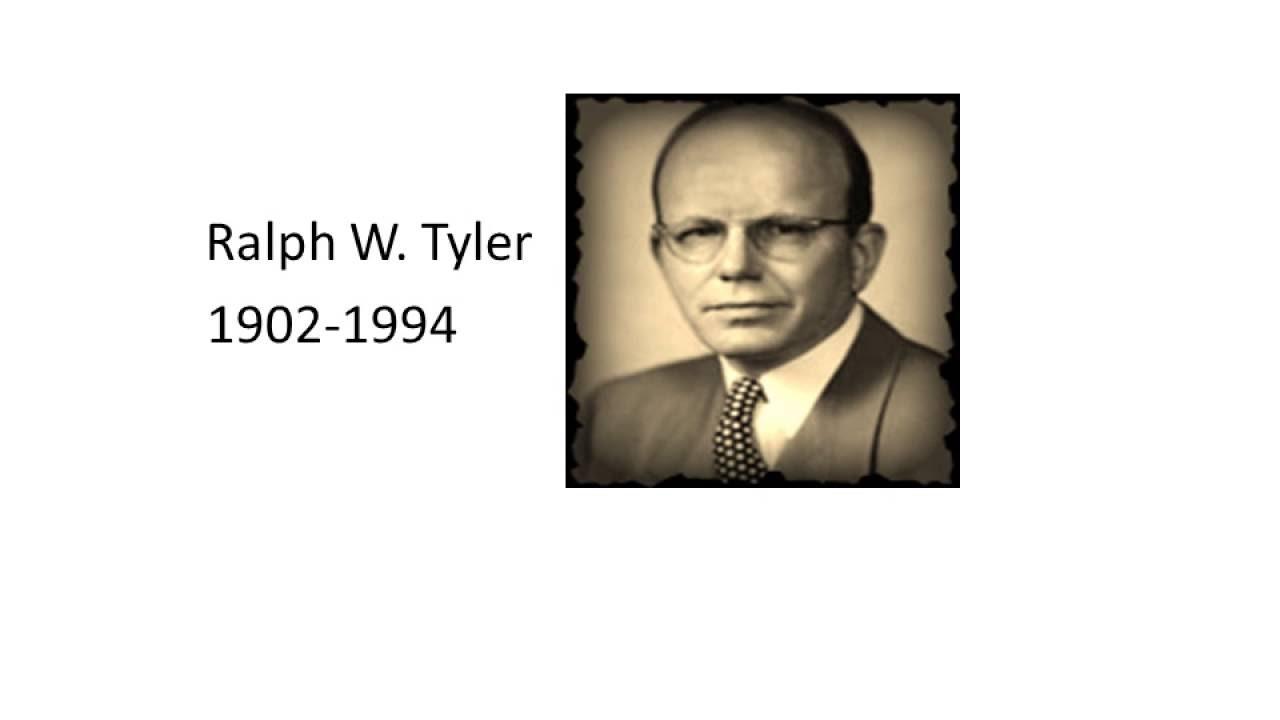 Ralph W. Tyler (1902–1994)- Curriculum Development Model