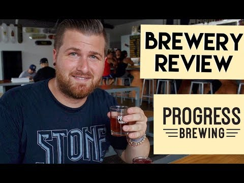 Let's Have Some Beer Episode 34: Progress Brewing (South El Monte, CA)