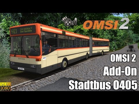 OMSI 2 - Add-On Stadtbus O405/O405G: Please watch: