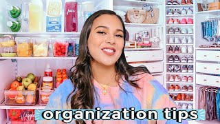 How to Be Organized + Stop Wasting Your Time & Money | Daily Life Hacks