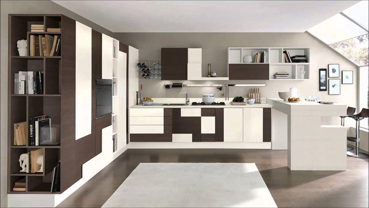 Cucina moderna mod creativa cucine lube torino youtube for Cucina creativa