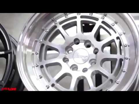Video brc velg mobil HSR Wheel tkb indonesia