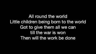 PIPES OF PEACE | HD with lyrics | PAUL McCARTNEY by Chris Landmark