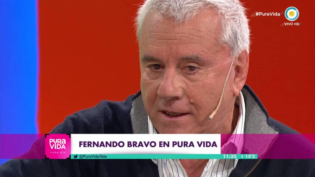 Fernando Bravo en Pura Vida, cada día