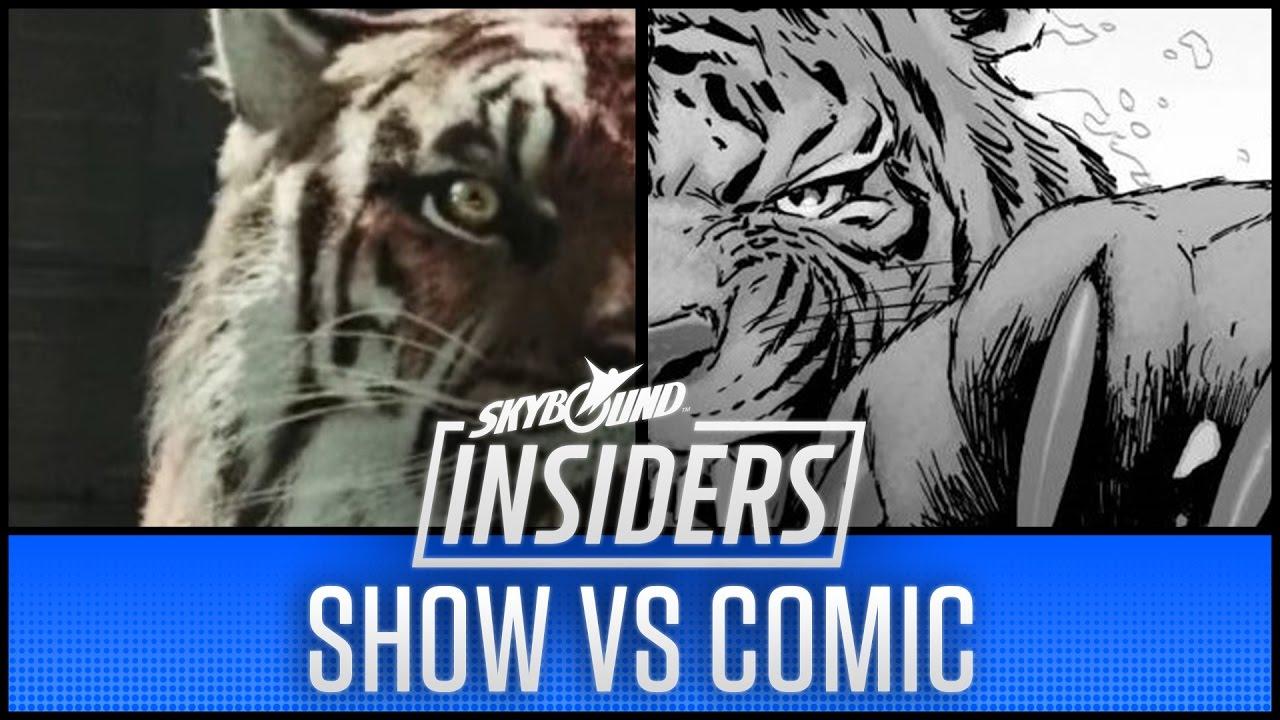 Download The Walking Dead Season 7 Show vs Comic!