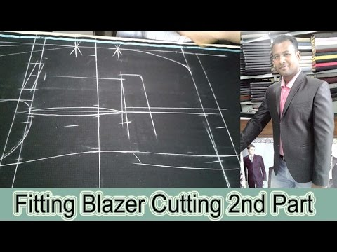 ►  Men's Fitting Blazer Cutting Easy Method | Blazer Cutting  2nd Part | OBSESS Tailors