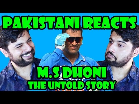 Pakistani Reacts to M.S Dhoni : The Untold...