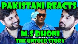 Pakistani Reacts to M.S Dhoni : The Untold Story | Official Trailer