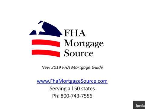new-2019-fha-mortgage-guide