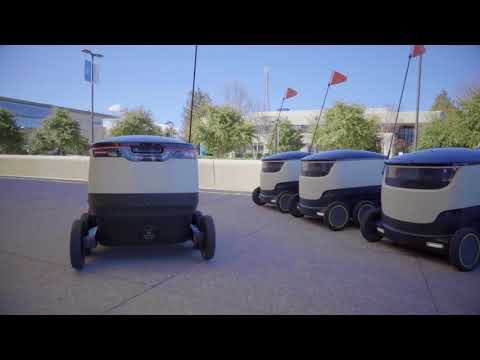 Gavin - Food Delivery Robots Will Deliver Pizza And Coffee
