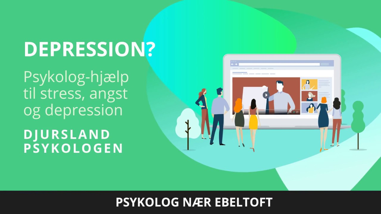 psykolog depression