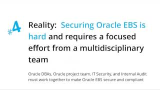 Oracle E-Business Suite Security Myths