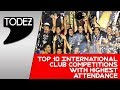 Top 10 International club competitions with Highest Attendance