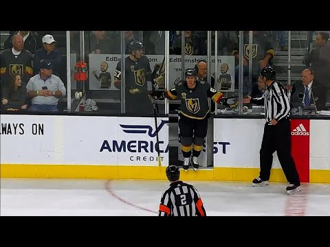 Golden Knights' Marchessault wants to leave the penalty box but no one lets him