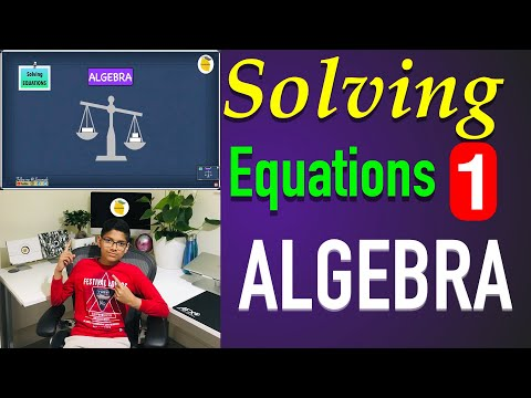 11 plus maths Algebra Basics: Solving Equations: Addition and Subtraction   Lessonade