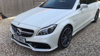 Mercedes CLS63 S AMG S 5.5 V8 [585] Shooting Brake - FTC Leasing X4/2197