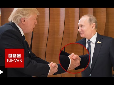 G20 SUMMIT: Donald Trump - Vladimir Putin Body Language - BBC News