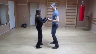 Нефтекамск. Танцы. Бачата, урок. 2