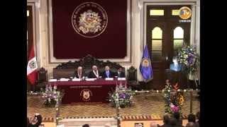 UNMSM recuerda el sacrificio de Daniel A. Carrión en el Dia de la Medicina Peruana
