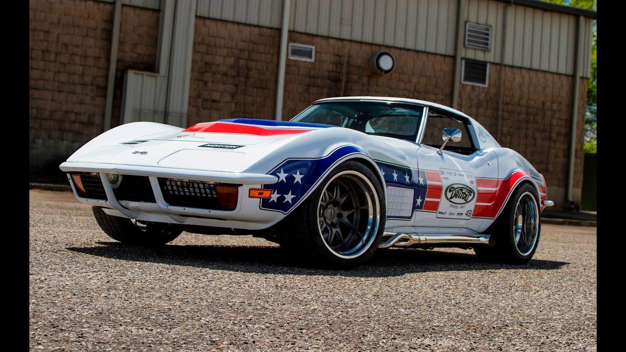 600 Hp 1972 Corvette Autocrosser By Detroit Speed One