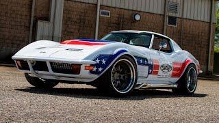 600 HP 1972 Corvette Autocrosser by Detroit Speed - One Take