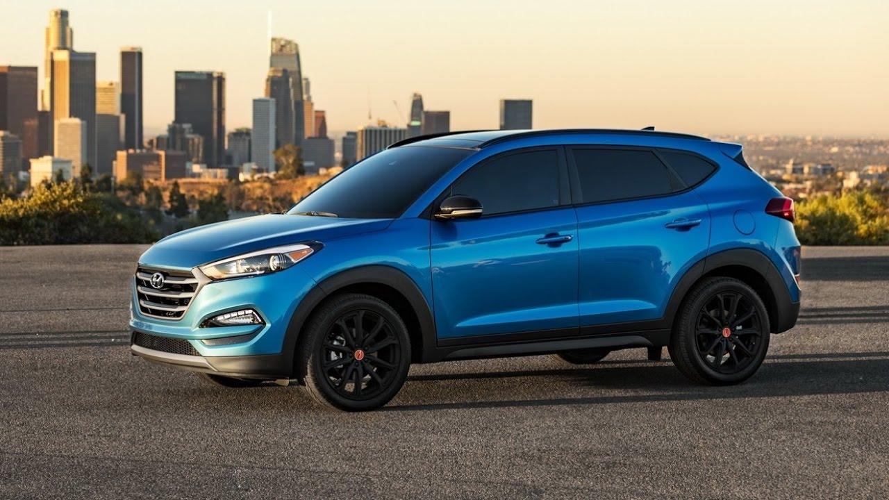 2017 Hyundai Tucson Night Limited Edition