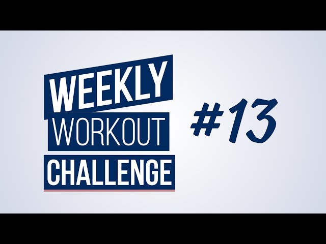 Weekly Workout Challenge #13 | Renaud Center