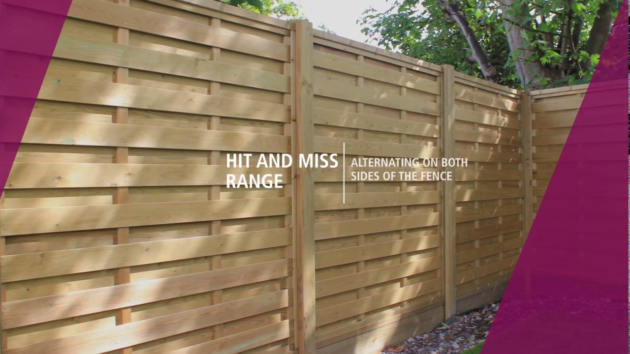 Fence Panels | Garden Fence Panels | Jacksons Fencing