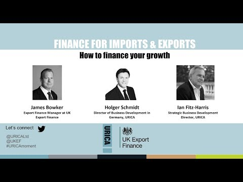 Methods of Payment for Imports & Exports - presented by URICA & UKEF [Webinar Recording]