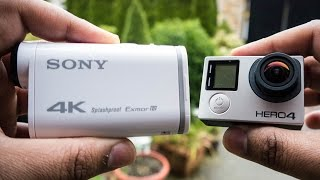 Sony FDR-X1000V Vs GoPro Hero 4 Black - 4K Video Comparison
