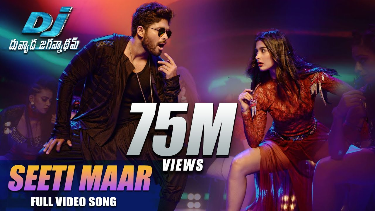 DJ Duvvada Jagannadham Video Songs - Seeti Maar Full Video Song - Allu  Arjun, Pooja Hegde