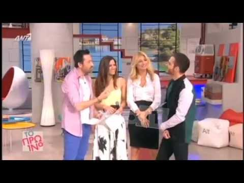 Elnur at Greek morning show at Antenna TV: Interview and song's presentation