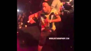 Footage Of Katt Williams Getting Jumped At The Beanie Sigel Concert In Philly!