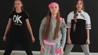 OPEN KIDS   Не танцуй   Официальный видео урок по хореографии из клипа   part II   Open Art Studio