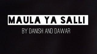 Lyrical video of Danish and Dawar with original audio|Maula ya Salli | The lyrics specialist.