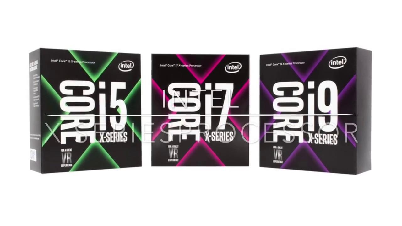 Intel Core X series processor 7 gen i5,i7,i9
