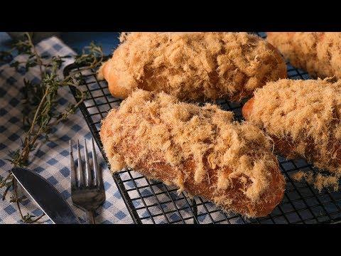 Cách Làm Bánh Mì Chà Bông (Floss Bun) Siêu Ngon   Học Làm Bánh   Hướng Nghiệp Á Âu