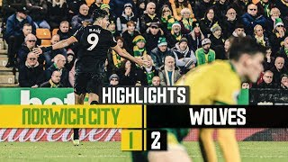 Romain Saiss and Raul Jimenez inspire Wolves to victory | Norwich City 1-2 Wolves | Highlights