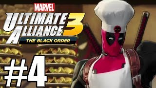 Marvel Ultimate Alliance 3  Gameplay Walkthrough Part 4 - Deadpool