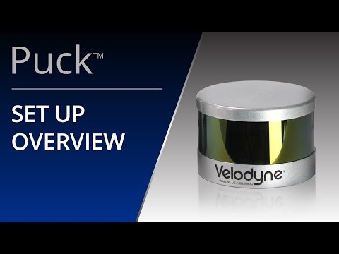 VLP 16 'Puck' Set Up Overview
