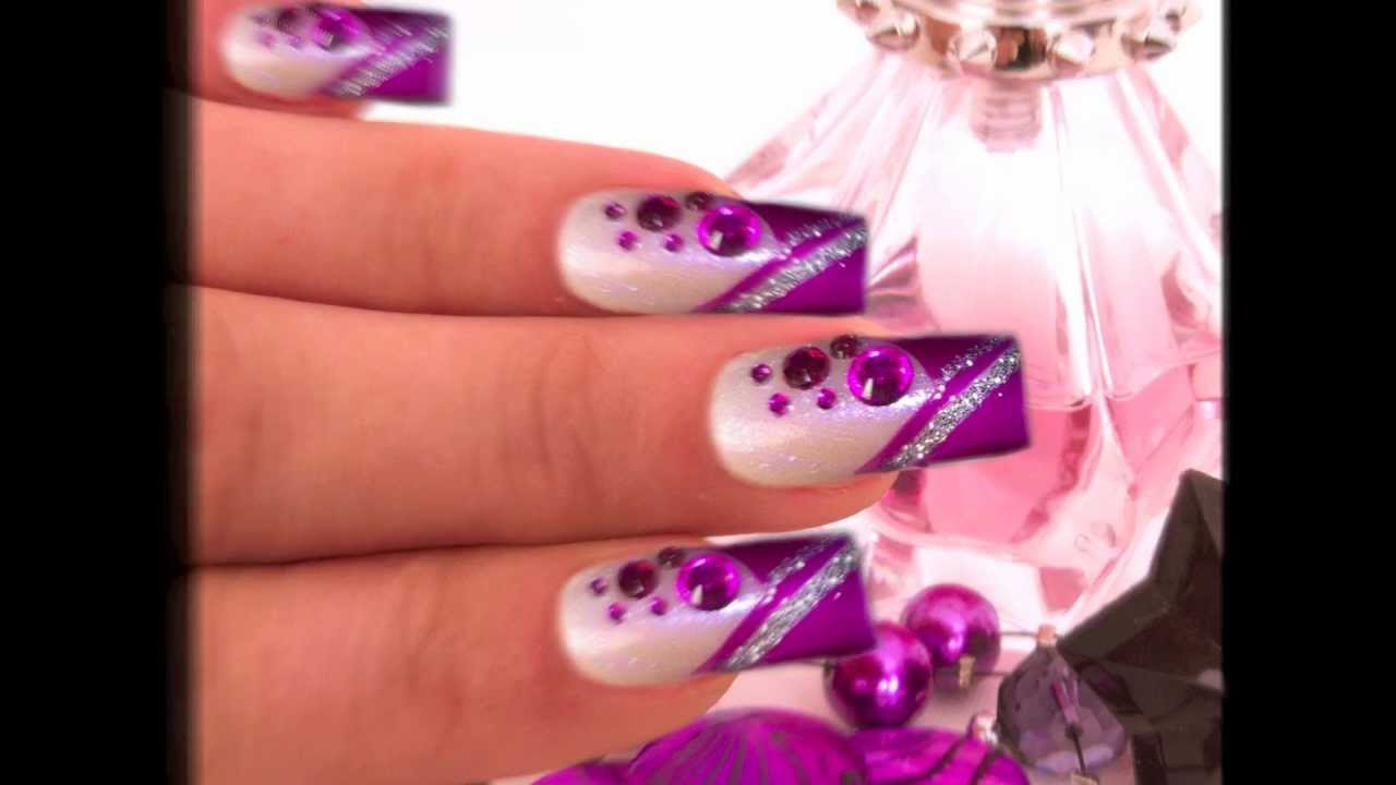 Gel uv glamour nails