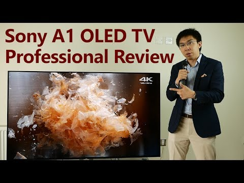 Sony A1/ A1E OLED TV Review