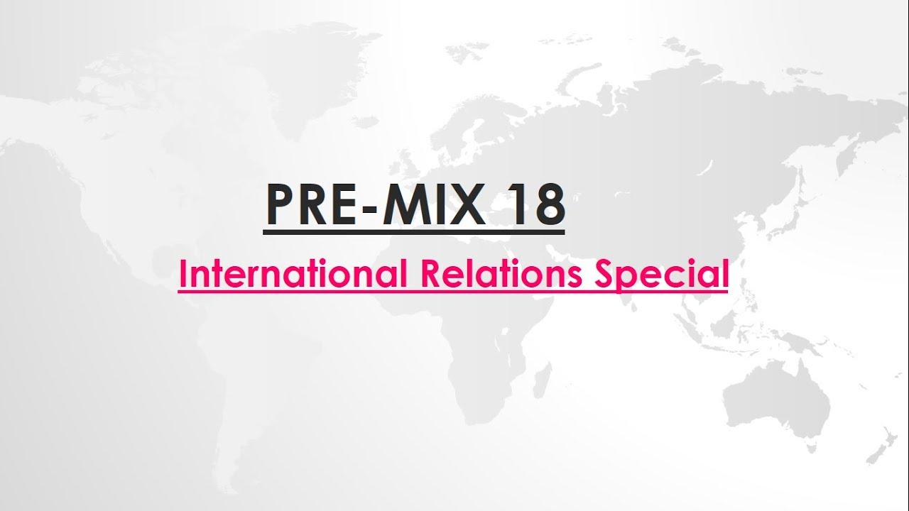 PRE-MIX - Day 18 - Prelims related questions for UPSC || IAS
