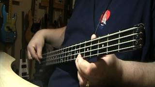 Paul McCartney & Wings With A Little Luck (Full Version) Bass Cover