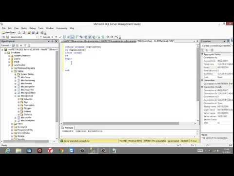 MS-SQL  TRIGGER